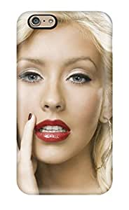 High Quality Shock Absorbing Case For Iphone 6-christina Aguilera