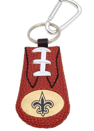 NFL New Orleans Saints Classic Football Keychain