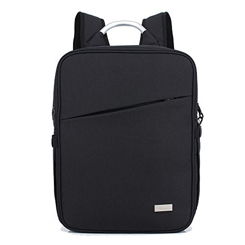Benchmart 15L Slim Business Backpack Commerce Capacity Travel Laptop Bag ,Backpack ,Travel Computer Bag for Women & Men, Anti Theft Water Resistant College School Bookbag with Aluminum Handle