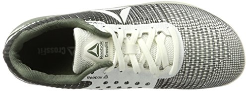 Running Zapatillas Blanco Chalk Green de 7 R Crossfit Nano Hunter 0 Reebok Unisex pxTXS0qwWa