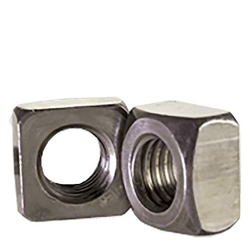 1 1/8''-7 Square Nuts Grade 2 Steel/Plain (Quantity: 75)