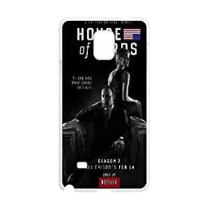 House Of Cards Underwoods Samsung Galaxy Note 4 Cell Phone Case White toy pxf005_5820906