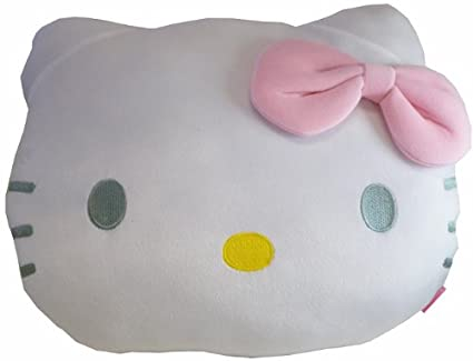Amazon.com: Almohada hello kitty – Cojín con forma de cabeza ...
