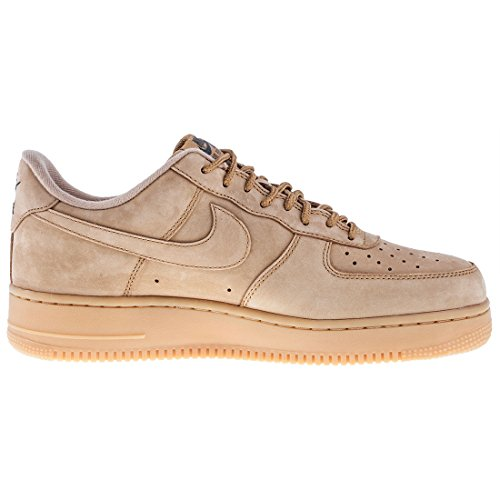 Nike '07 Scarpe gum Flax Flax WB 1 Light Force Uomo AA4061 in Pelle outd Beige Brown Flax 200 Air rrdXwCqxH
