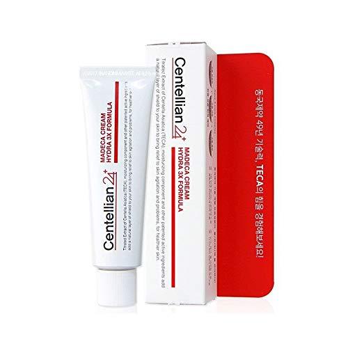 Centellian24 Madeca Facial Moisturizing Cream_Hydra 3X Formula, Centella Asiatica TECA Skin Renewal Moisturizer 50ml/1.69 fl. oz, Made in Korea
