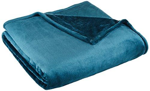 Northpoint, Cashmere Plush Velvet Blanket, Full/Queen, Teal