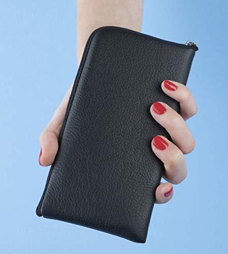 Funda de cuero para Samsung Galaxy Note 10 Plus, caja funda bolsa case, cover estuche de manga: Amazon.es: Handmade