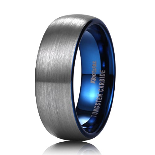king-will-duo-7mm-blue-domed-tungsten-carbide-wedding-band-ring-brushed-polish-finished-comfort-fit1