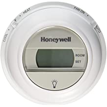 Honeywell Digital Round T8775C1005 Non-Programmable 1 Heat/1 Cool