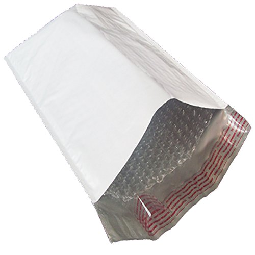 Mid Atlantic Packaging   7 25 X12    1  Bubble Lined White Poly Mailers 200