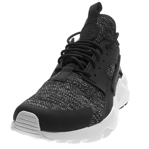 Nike Men's Air Huarache Run Ultra BR, BLACK/BLACK-SUMMIT WHITE, 10.5 M US