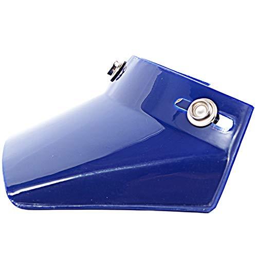 - Peak Visor for 3-Snap Motorcycle Helmet (Blue)