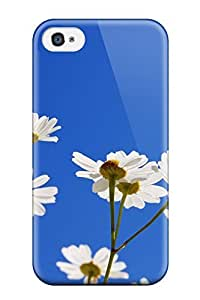 4/4s Scratch-proof Protection Case Cover For Iphone/ Hot Flower Phone Case
