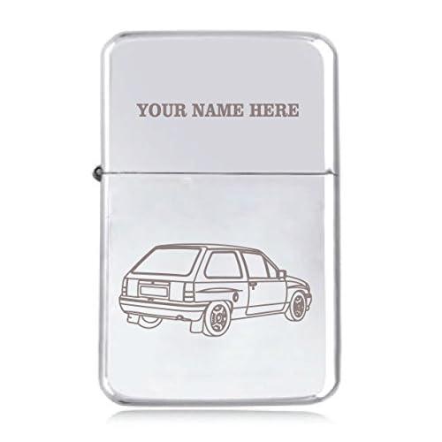 Vauxhall Nova Motif–personnalisé Star coupe-vent Briquet à essence