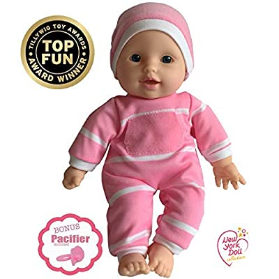 """The New York Doll Collection 11"""" Baby Doll Caucasian : Baby"""