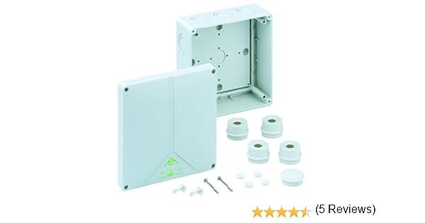 Spelsberg Abox 160L - Caja de conexión vacía, color gris: Amazon.es: Bricolaje y herramientas