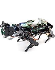 Freenove Robot Dog Kit for Raspberry Pi 4 B 3 B+ B A+, Walking, Self Balancing, Ball Tracing, Face Recognition, Ultrasonic Ranging, Camera Servo (Raspberry Pi NOT Contained)