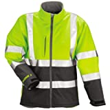 Tingley Rubber J25022 2X Phase 3 Softshell with Fleece Lining, 2X-Large, Lime Green