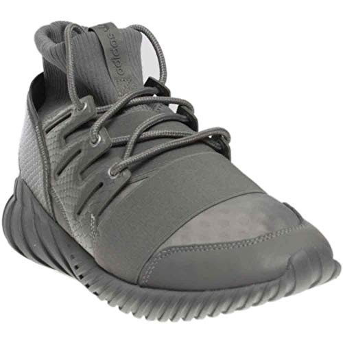 adidas Men Tubular Doom (Gray/Charcoal Solid Grey/Metallic Silver) Size 9 US