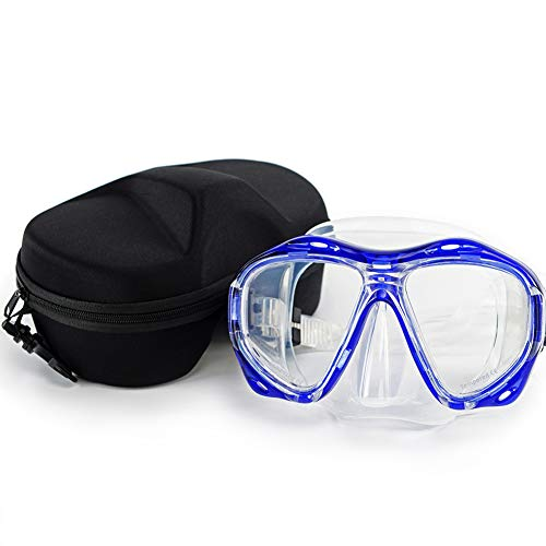 Morgiana Unisex Swimming Mask Goggle with Anti-Fog and UV Protection Lenses - ()