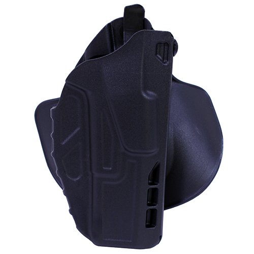 Safariland 7378 7TS ALS Concealment Holster, Flex-Paddle & Belt Loop Combo, Glock 17, 22, 31, SafariSeven Plain Black, Right Hand