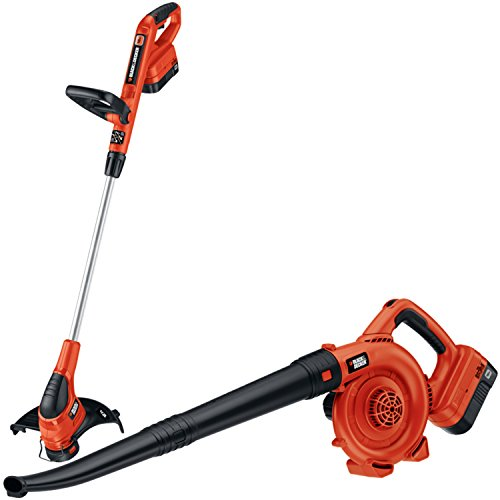 Black & Decker NCC218 18V Cordless Trimmer & Sweeper Outdoor Combo Kit by BLACK+DECKER