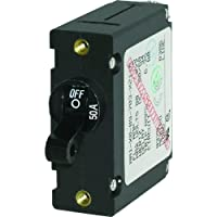 Blue Sea Systems CIRCUIT BREAKER AA1 50 AMP BLK 7228