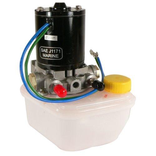 DB Electrical TRM0089 Tilt Trim Motor Pump & Reservoir for Power Pole Sportsman Anchor 4-6789, Pump - Motor Power Trim