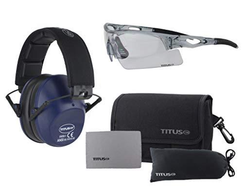 TITUS Slim-line Earmuffs and