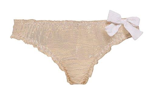 Frenchlingerieshop - Braguitas - para mujer Goldy/Ivory