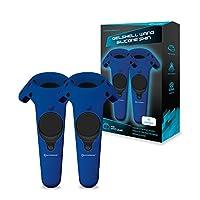 Funda de silicona Hyperkin GelShell Controller para HTC Vive Pro /HTC Vive (Azul) (paquete de 2)