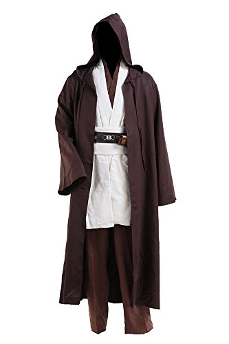 RedJade OBI WAN Kenobi Jedi Cloak Traje de Cosplay Disfraz Child ...