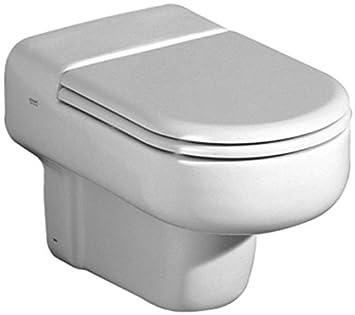 Keramag courreges wc sitz scharniere abdeckung ablauf dusche - Wand wc caramel ...