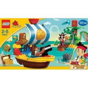 LEGO 10514 DUPLO Jake - Pirate Ship Bucky Lego Duplo parallel import overseas direct delivery products and parallel import goods