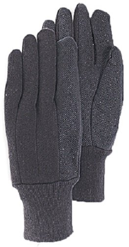 Magid Glove & Safety T92CPT Small 9 oz Brown Jersey Glove w Gripper Dots - Quantity 144 by MAGID