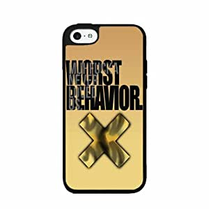 I'm On My Worst Behavior TPU RUBBER SILICONE Phone Case Back Cover iPhone 4 4s