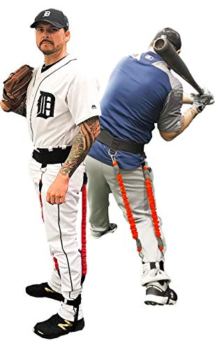 Velopro Baseball Training Harness   Resistance Hitting & Pitching Trainer Adds 4-7MPH of Batting Power or Pitch Velocity   Improves Swing and Pitching Mechanics   Get Instant Feedback With Each Rep