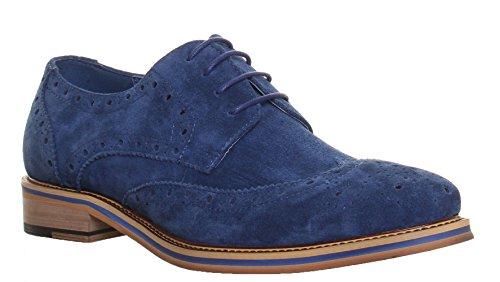 Lacets Harold Hommes Chaussures 2 À Reece Pour Marine Bleu Justin 6xwZx