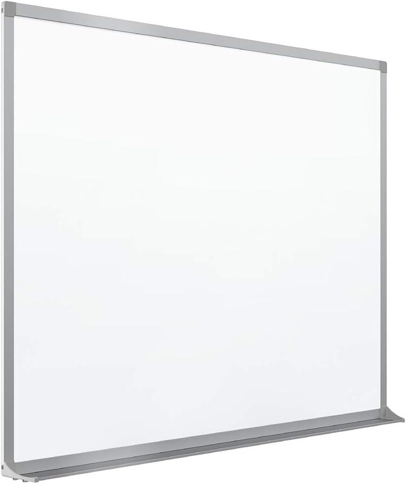 Quartet Porcelain Whiteboard, Magnetic Dry Erase White Board, 4' x 8', Aluminum Frame (PPA408)