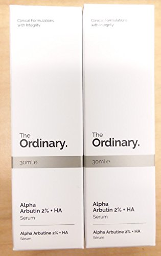 The Ordinary Alpha Arbutin 2% + Ha 30ml | Pack of 2