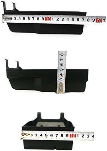 Basage Car Center Console Armrest Box Glove Box Secondary Storage Tray for Mercedes C Class W204 2008-2013 C180 C200 C260 C300 CDI 2008-2013