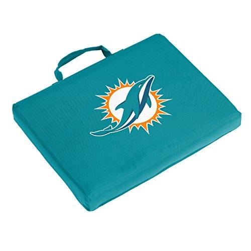 - Logo Brands NFL Miami Dolphins Bleacher Cushion, One Size, Aqua