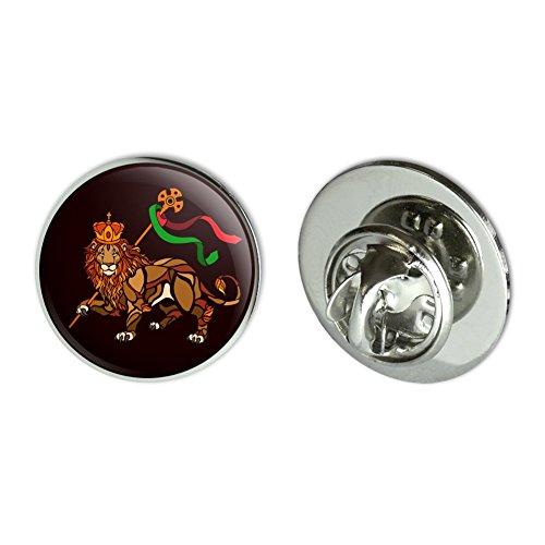 "GRAPHICS & MORE Lion of Judah Bible Metal 0.75"" Lapel Hat Pin Tie Tack Pinback"