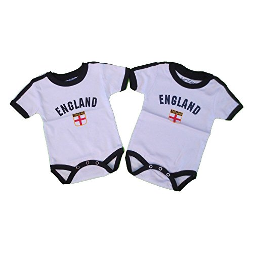 LOT Of 2 Pc England Baby Bodysuit 100%Cotton 1 for 6 Months And 1 for 12 Months . New - Lot 2 Bodysuits