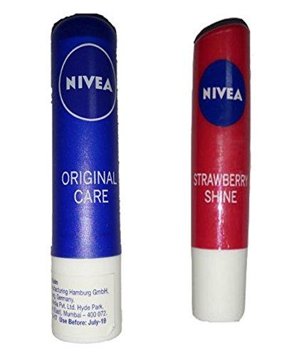 Nivea Strawberry Lip Balm - 9