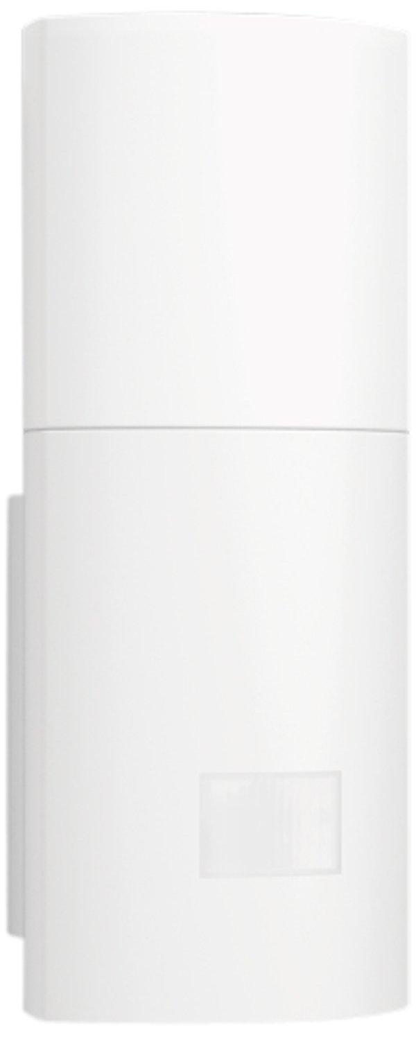 Steinel Wandleuchte L 910 LED silber, 11 W, 755 lm, 180° Bewegungsmelder, 12 m Reichweite, Dauerlicht, Softlichtstart, 23.5 x 8 x 8.5 cm, 576219 180° Bewegungsmelder