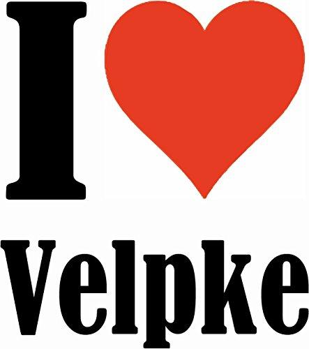 """Handyhülle iPhone 4 / 4S """"I Love Velpke"""" Hardcase Schutzhülle Handycover Smart Cover für Apple iPhone … in Weiß … Schlank und schön, das ist unser HardCase. Das Case wird mit einem Klick auf deinem Sm"""