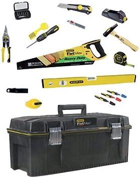 Stanley STHT6 – 97831 Kit de herramientas para carpintero, Negro, Set de 13 piezas: Amazon.es: Bricolaje y herramientas