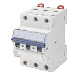 Gewiss GW92068 corta circuito - Corta circuitos (230 - 400 V, 20-10 kA, 20 A, Color blanco, 6000 A, CE, NF, DVE)