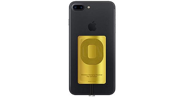 Récepteur QI compatible avec iPhone 5-5c- SE- 6-6 Plus- 7-7 Plus- YKing iPhone récepteur sans fil - Récepteur QI - Récepteur de charge - Récepteur ...